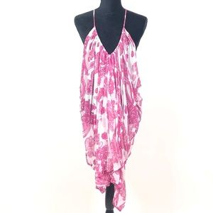 Mikoh Swim Off The Wall Silk Cover Up 1067